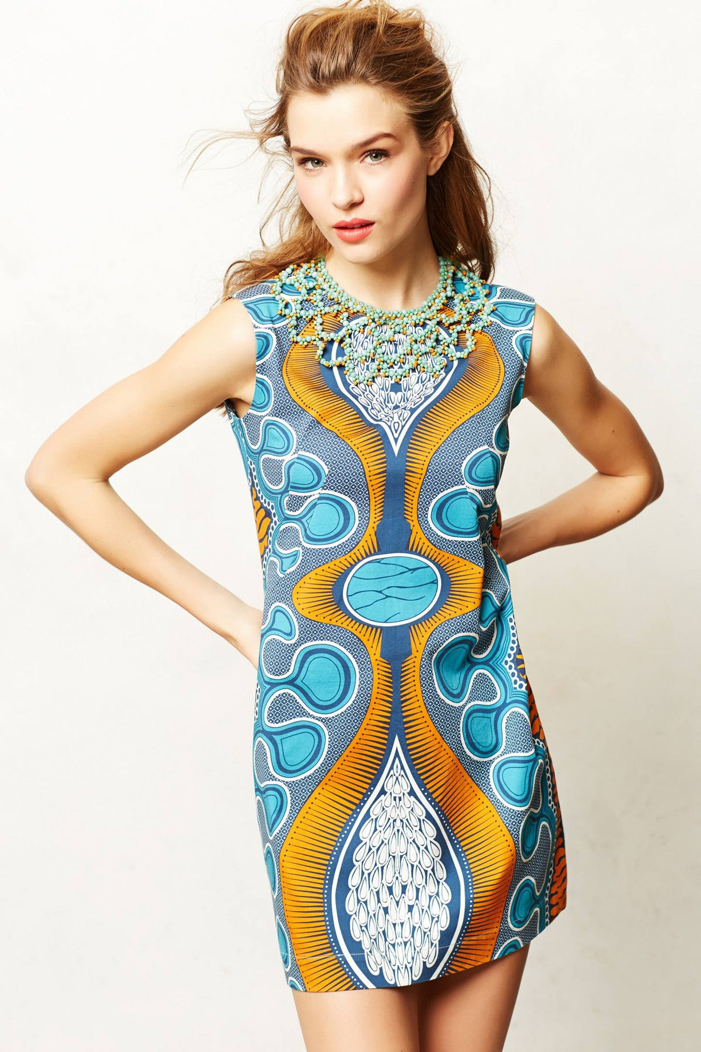 Legend & Song Dutch Wax Katanga Dress