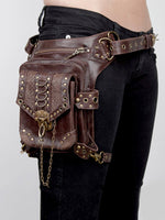 Laden Sie das Bild in den Galerie-Viewer, Damen Retro Punk Crossbody Umhängetasche