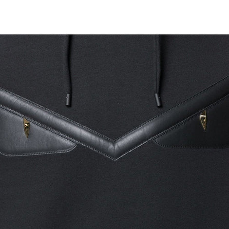 Fendi Tonal Leather Bag Bugs Eyes Sweatshirt Hoodie