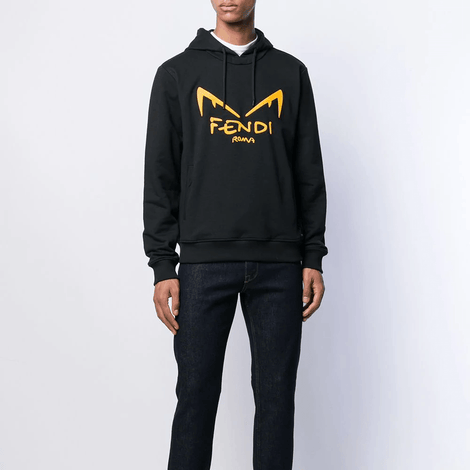 Fendi Bag Bugs eyes Sweatshirt Hoodie - Men - Apparel - Sweatshirt - Hoodie - Fendi | Gethuda Fashion