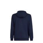 Fendi Men Blue wool and cotton hoodie sweatshirt and jersey pants