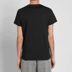 Balmain Paris B white logo Black T-Shirt - Men - Apparel - Shirts - T Shirts - Balmain | Gethuda Fashion