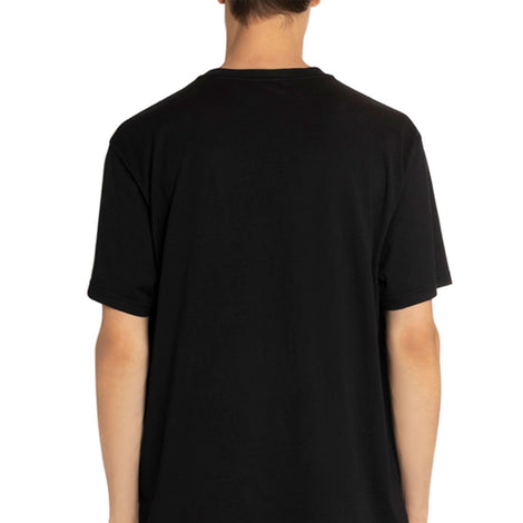 Givenchy Paris metallic silver logo Black T-Shirt