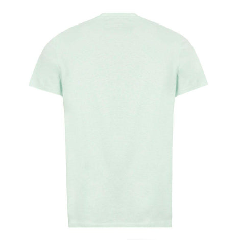 Balmain Green T-Shirt with white Balmain Paris B logo