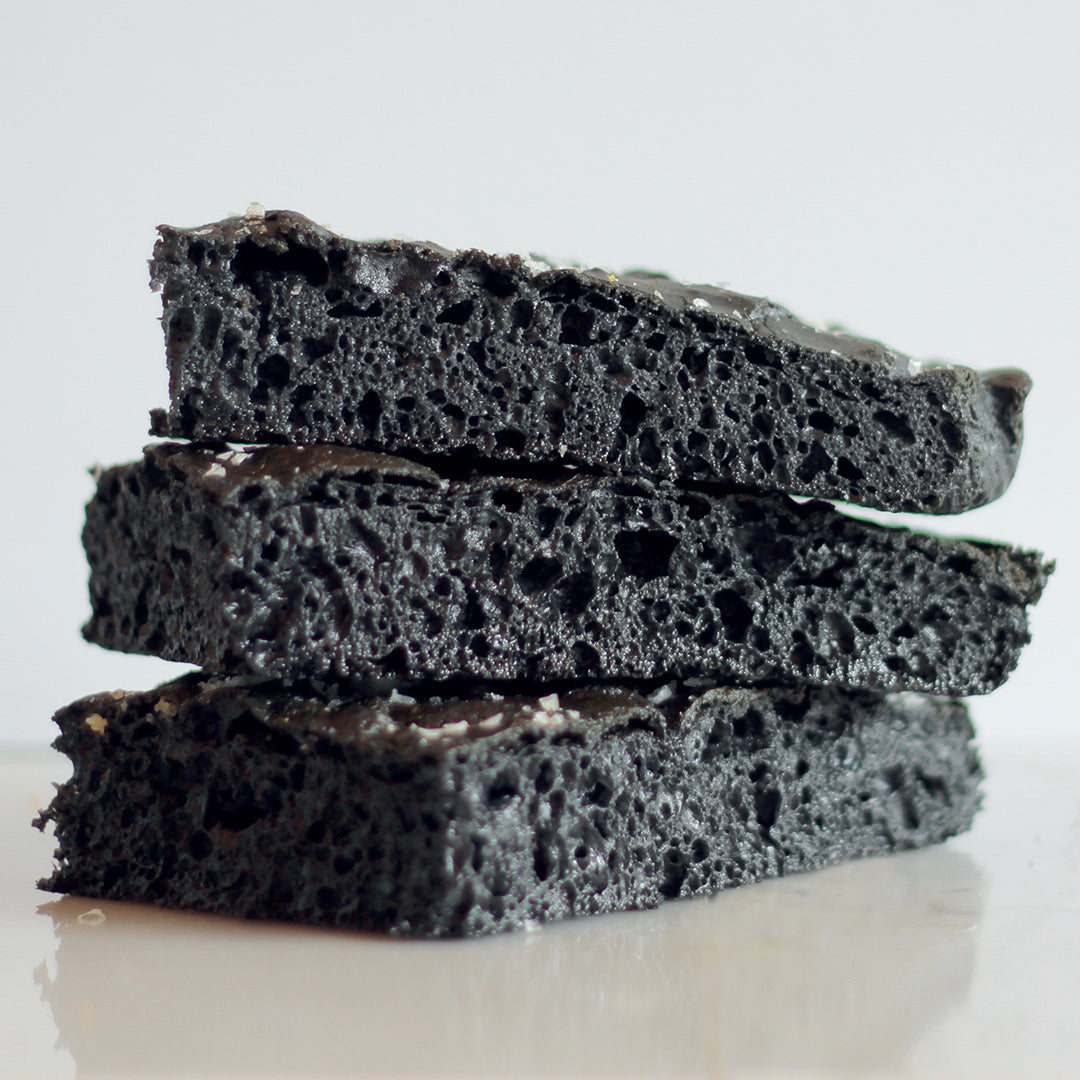 Gluten Free Focaccia Charcoal / Box of 4