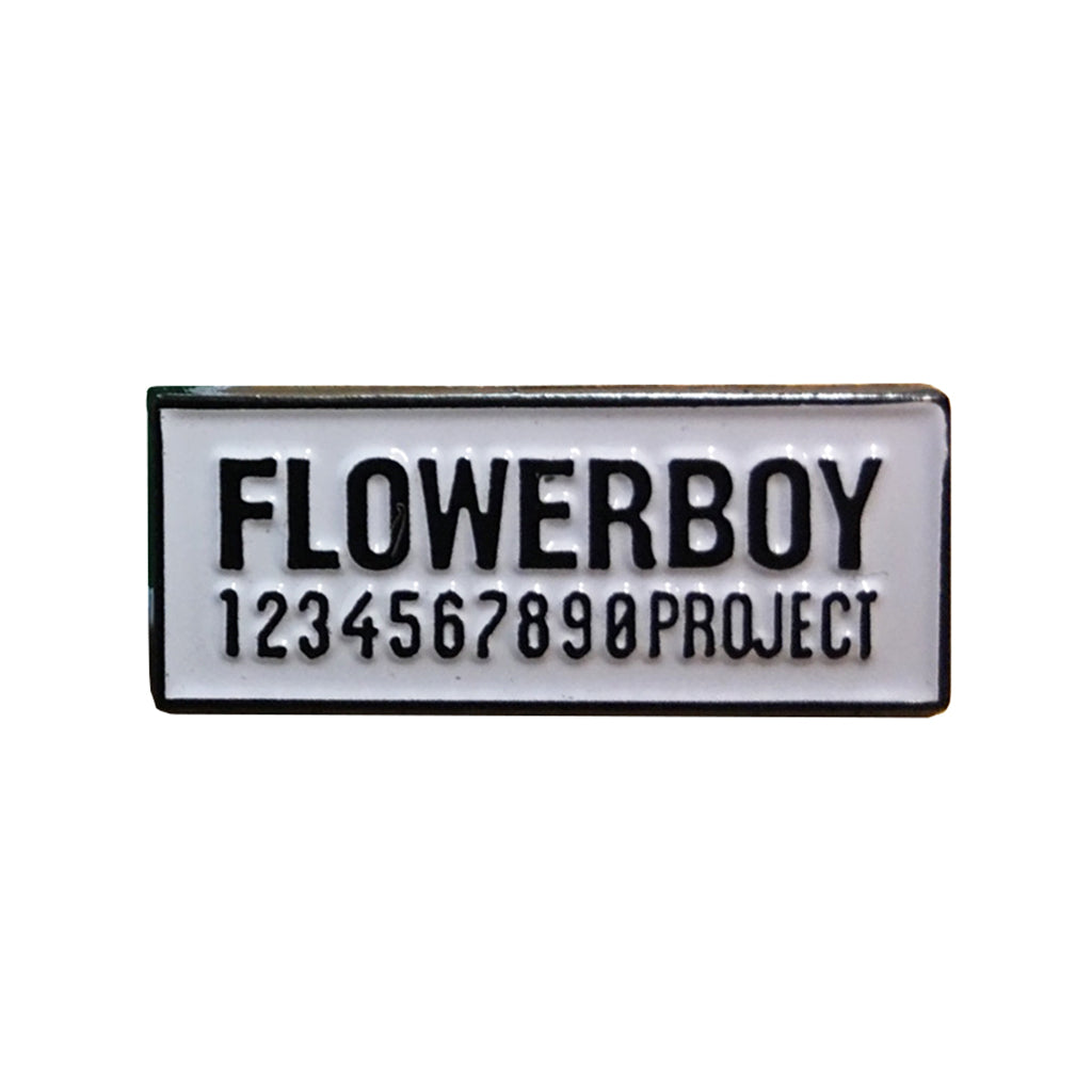 Flowerboy Project Enamel Pin
