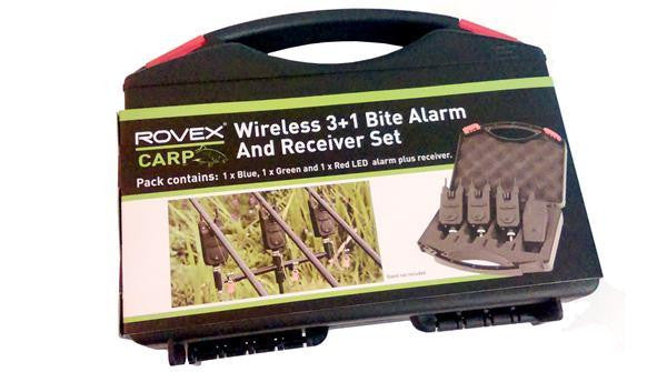 Rovex Wireless Bite Alarm and Receiver  ( 3 +1 )