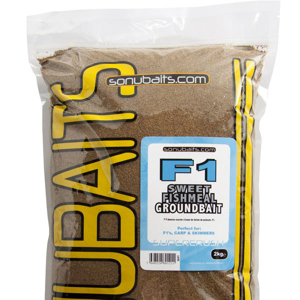 Sonubait F1 Sweet Fishmeal Groundbait