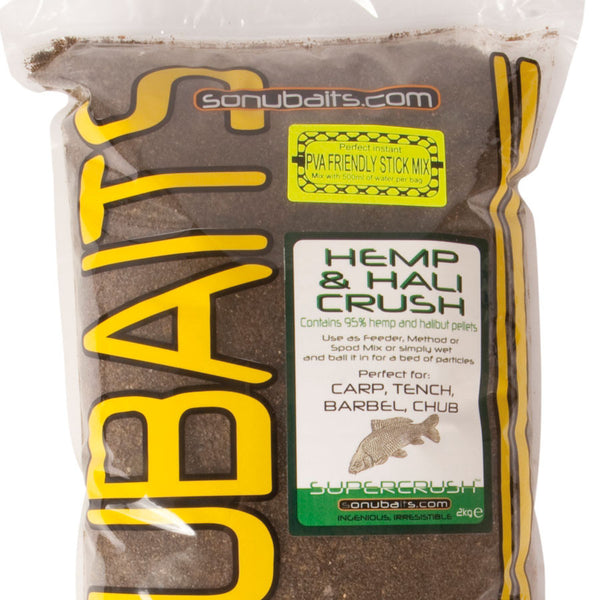 Sonubaits Hemp and Hali Crush Groundbait