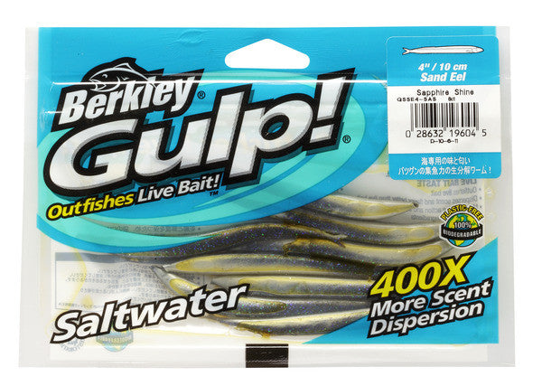 Gulp! Salt Water Sandeel 5in