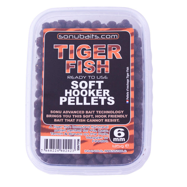 Sonubaits Soft Hook Pellets- Tiger Fish