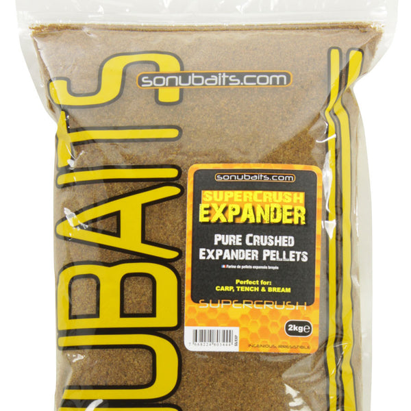 Sonubait Supercrush Pure Expander Pellets Groundbait