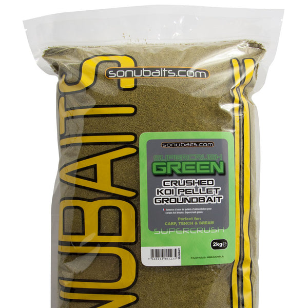 Sonubait Supercrush Green Groundbait.
