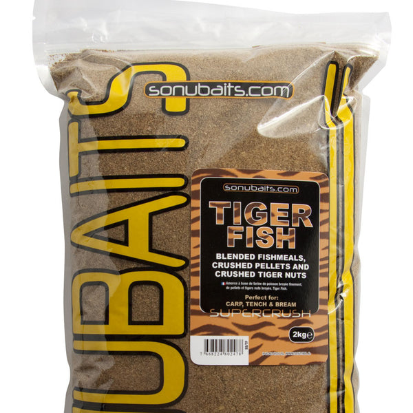 Sonubait Tiger Fish Supercrush Groundbait