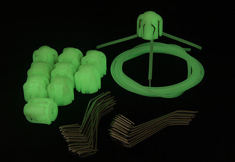 Gemini System 100+ Glow In The Dark Heads And Grips (No Tail Wires)
