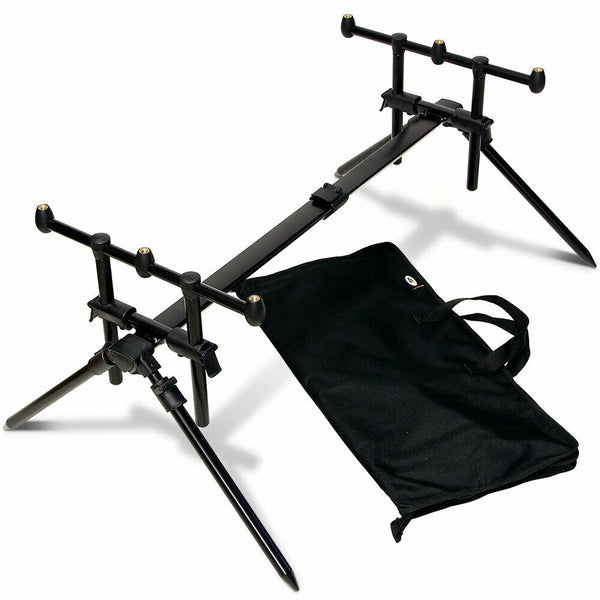 NGT Quick Fish 3 Rod  Pod With Case.