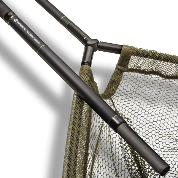 Saber 42inch Carbon 2 Piece Landing Net And Staff
