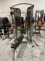 Precor S3.23 Functional Trainer with Adjustable Bench - Refurbished - Free Shipping - Buy & Sell Fitness