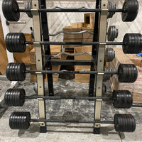Troy 70-120lb Barbell Set - USED - FREE SHIPPING - Buy & Sell Fitness