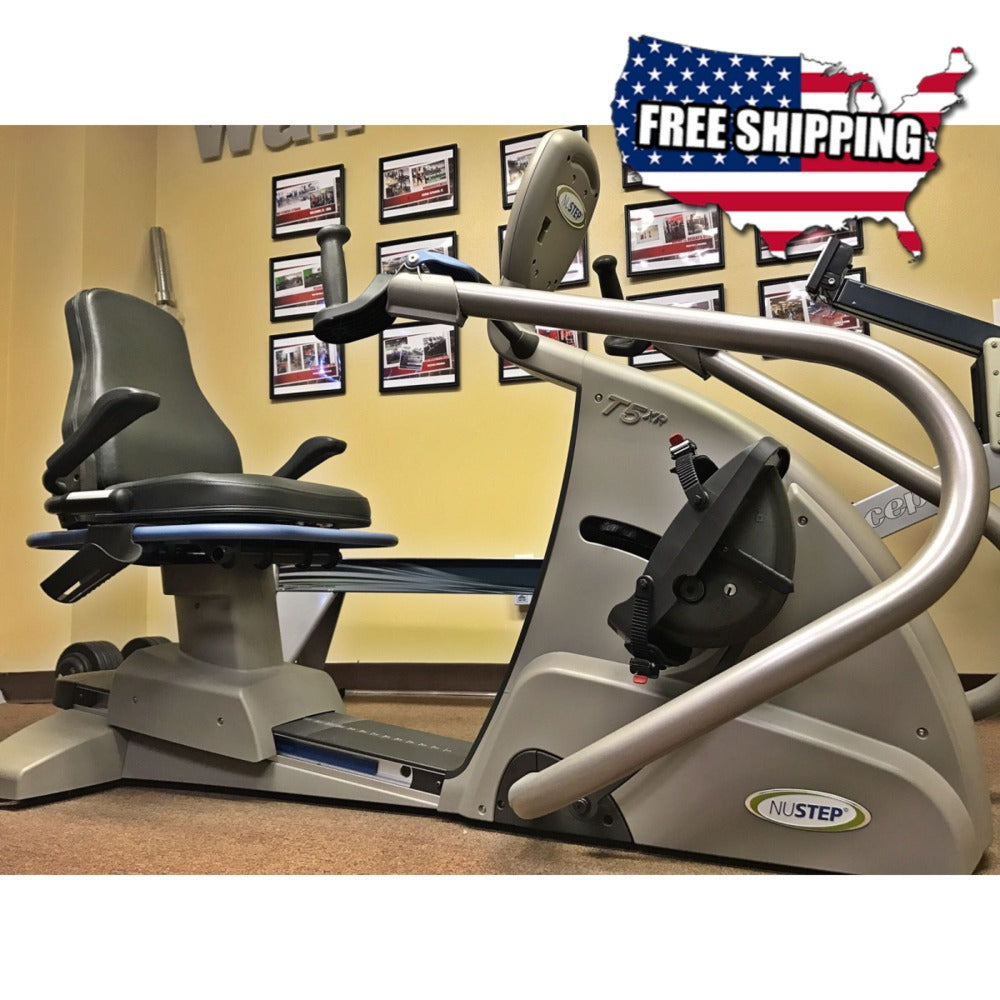 Nustep T5xR Recumbent Stepper - NEW - Buy & Sell Fitness