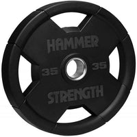 Hammer Strength Rubber Olympic Plates - SOLD INDIVIDUALLY - Buy & Sell Fitness