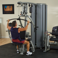 Body Solid Pro Dual Modular Gym DGYM 4-STACK Multigym - Buy & Sell Fitness