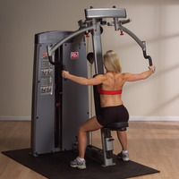 Body Solid Pro Dual Pec & Rear Delt Machine DPEC-SF - Buy & Sell Fitness