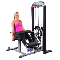 Body Solid Pro-Select Leg Extension & Leg Curl Machine GCEC-STK - Buy & Sell Fitness