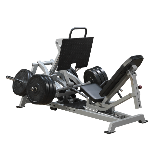 Body Solid Plate-Loaded Leverage Horizontal Leg Press LVLP - Buy & Sell Fitness