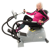 PhysioStep LXT Recumbent Cross Trainer with Swivel Seat - Buy & Sell Fitness