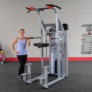Body Solid Series II Assisted Chin and Dip Machine S2ACD - Buy & Sell Fitness