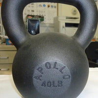 Apollo Cast Iron Kettlebells - Buy & Sell Fitness