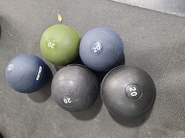 Used Get RXd Slam Balls- AVAILABLE FOR PICKUP & SHIPPING 7/10 - Buy & Sell Fitness