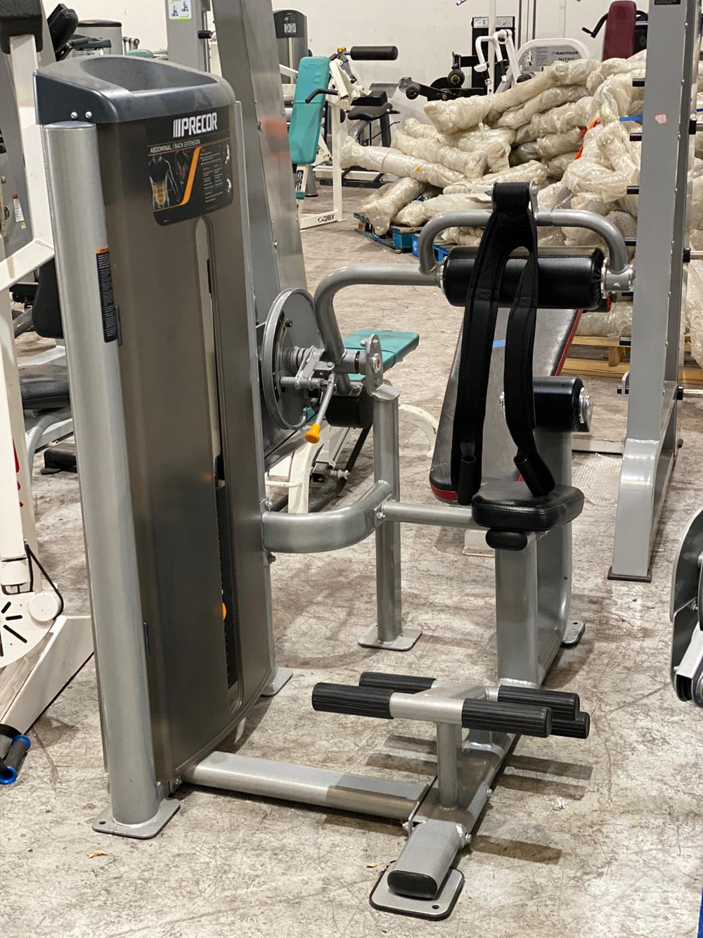 Precor Vitality Ab Crunch - Buy & Sell Fitness