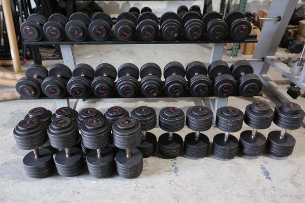 **Snap Fitness*** GPI 20lb - 100lb Dumbbell Set - Used - Buy & Sell Fitness