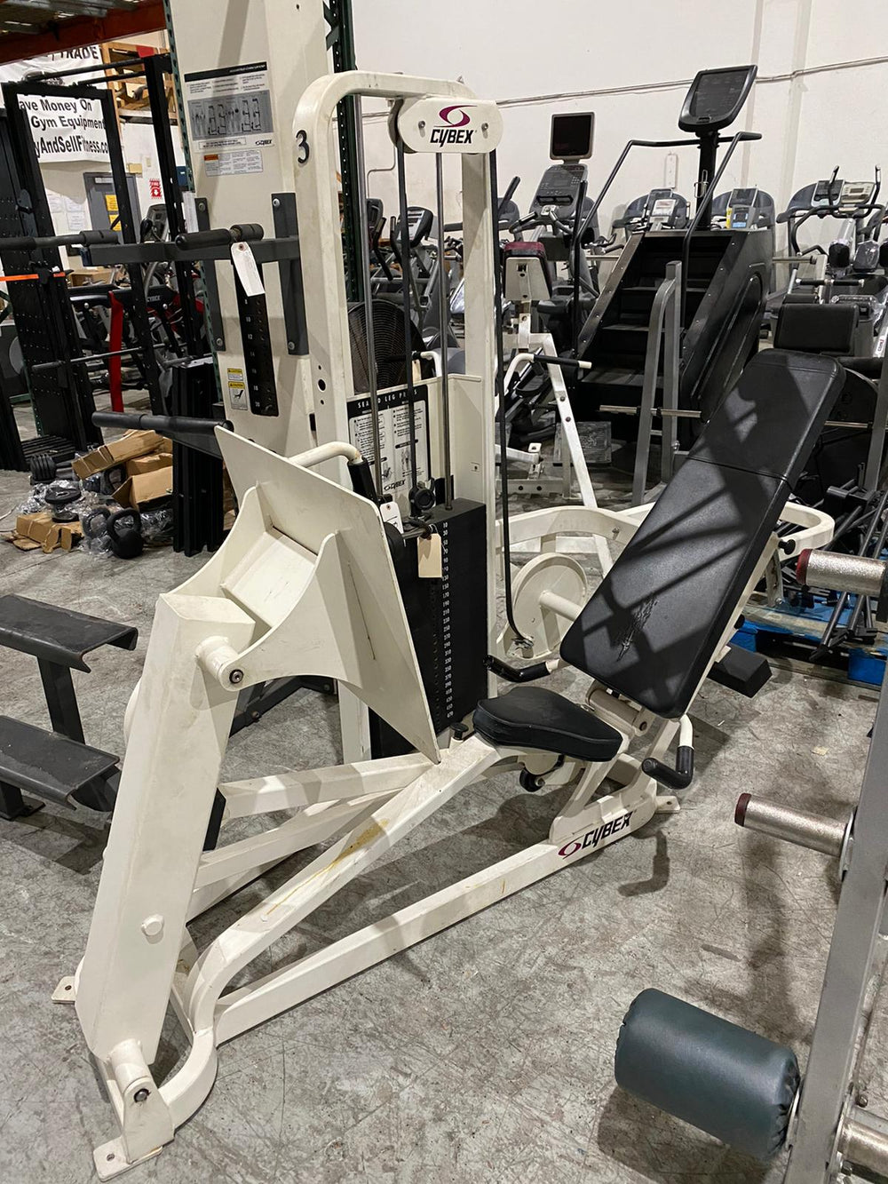 Cybex Vr2 Seated Leg Press - USED - Buy & Sell Fitness