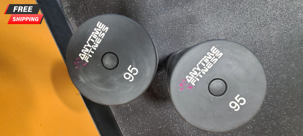 95lb Urethane Dumbbell Pair - Used - Buy & Sell Fitness