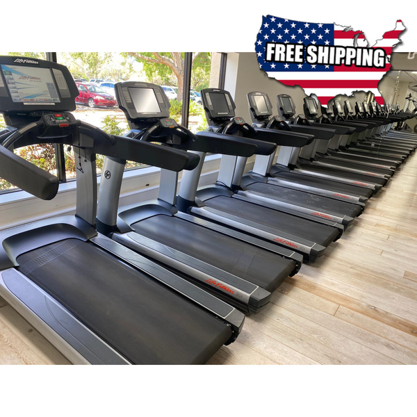 Life Fitness 95t Engage Treadmill - Refurbished - Buy & Sell Fitness