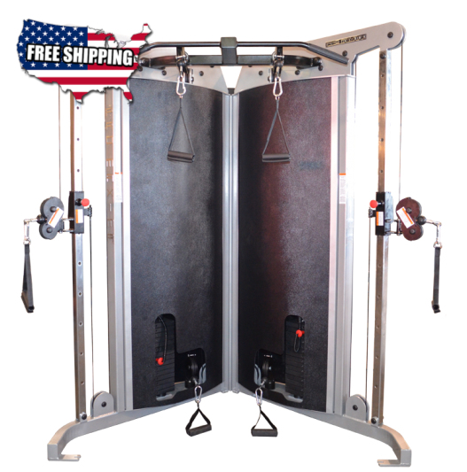 Promaxima CM-337 Corner Unit Multi-Functional Trainer - Buy & Sell Fitness