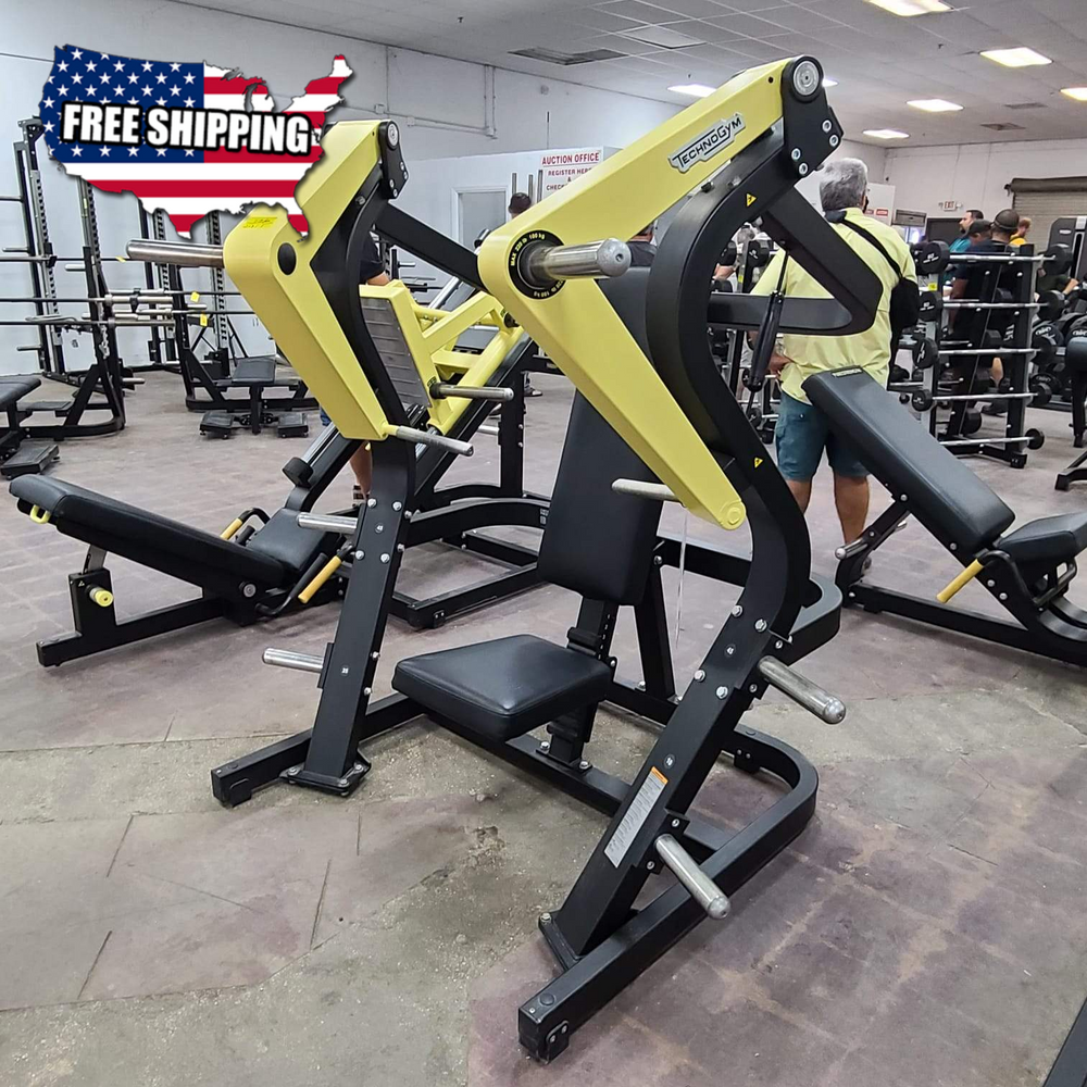 Technogym Pure Strength Plate Loaded Chest Press - Refurbished - Buy & Sell Fitness