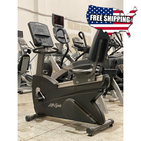 Life Fitness Integrity Series Recumbent Bike - Buy & Sell Fitness