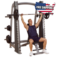 Body Solid Pro Clubline Counter-Balanced Smith Machine SCB1000 - Buy & Sell Fitness
