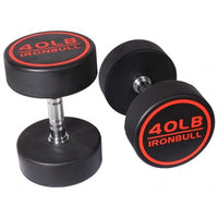 Iron Bull Premium Prostyle Rubber Dumbbells - Sold Individually - Buy & Sell Fitness