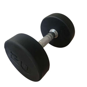 Core1 5-50lb Nero Dumbbells Set - Premium Rubber - Buy & Sell Fitness