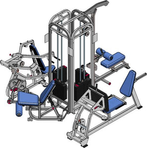 Promaxima P-235-2 4 Stack Multi-Gym - Buy & Sell Fitness