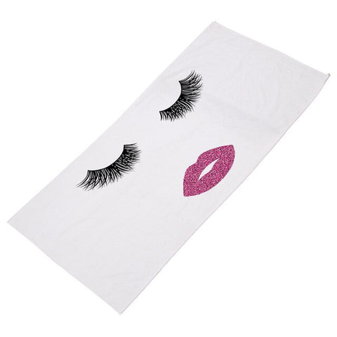 These Eyes Don't Lie Beach Towel