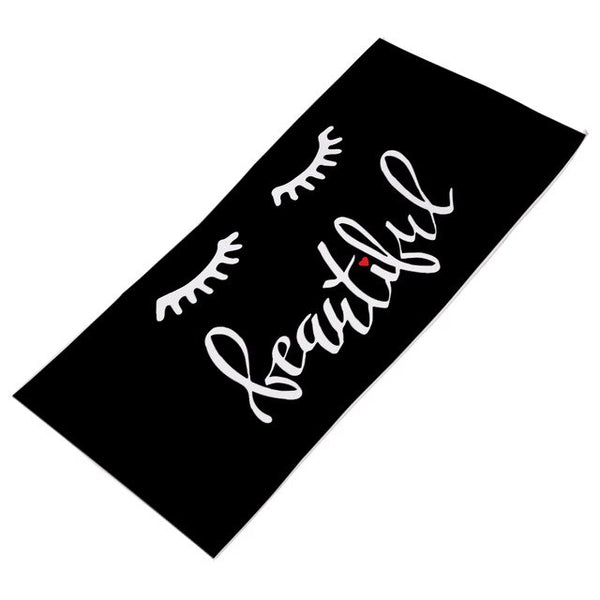 Lash Beauty Beach Towel