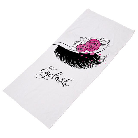 Lash Obsessed Beach Towel