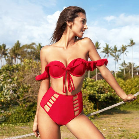 Devilish Desire High Waist Bikini Set