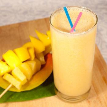 Frozen Delight Fruit Smoothie